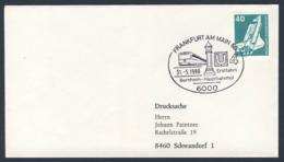 Deutschland Germany 1980 Brief Cover - Erstfahrt U4 Bornheim - Frankfurt Am Main / Subway Route, Frakfurt - Treinen