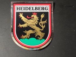 Blason écusson Adhésif Autocollant Sticker Coat Of Arms; Aufkleber Wappen  Heidelberg - Obj. 'Remember Of'
