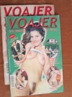 """TWO EROTIC-PORNO MAGAZINES  """"VOAJER"""" 2004 YUGOSLAVIAN EDITION - Libri, Riviste, Fumetti"""