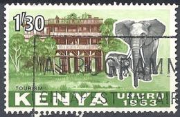 Kenya, 1963 Tourism, 1.30sh # S.G. 10 - Michel 10 - Scott 10  USED - Kenya (1963-...)