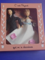 POUPÉES PEYNET ** LES AMOUREUX** Dans Leur Boîte- Rééd. - Dolls