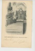 SAINT HILAIRE DE RIEZ - Intérieur De L'Eglise (carte Précurseur) - Saint Hilaire De Riez