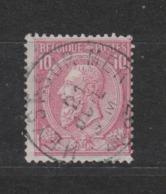 COB 46 Oblitération Centrale HEYST-SUR-MER Superbe - 1884-1891 Léopold II