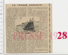 Trésor Englouti à L'île D'Oléron Comte De Saint-Paul Vendéen En Exil Voilier Trois-Mâts Jeune-Henri La Brée 17  223CHV18 - Vieux Papiers