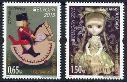 Bulgaria 2015  - Europa Cept - Set  MNH** - Europa-CEPT