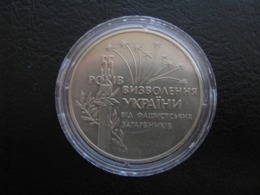 55 Years Of The Liberation Of Ukraine From Fascist Invaders Ukraine 1999 Coin 2 UAH - Ukraine