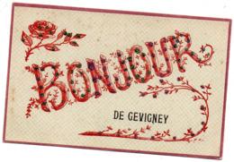 70 Un Bonjour De Gevigney - Frankrijk