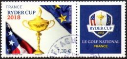 Oblitération Cachet à Date Sur Timbre De France N° 5245 Ryder Cup - Sport Golf - Usati