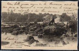 SAINT NAZAIRE - VILLAS SUR LA COTE - ANIMATION - DOS 1900 - Saint Nazaire