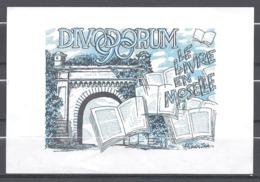 France : Feuillet DIVODORUM 90 Le Livre En Moselle N° 50 ( Porte Serpenoise ° - Autres Accessoires