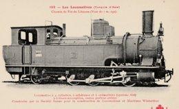 TRAINS  -  Les Locomotives Turquie D'Asie - Trains