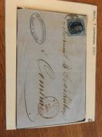 Gand Devant De Lettre 1855 Avec N* 7 - Belgium