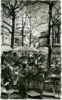PARIS  Café Sur La Place Du Tertre  Gendarme - Caffé
