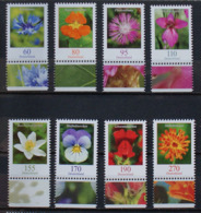 Flowers Fleurs Blumen Germany Allemagne 8 X 2019 / ** MNH - Pflanzen Und Botanik
