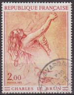 Etude De Femme à Genoux Par Charles Le Brun  - FRANCE - Oeuvres D'art - N° 1742 - 1973 - France