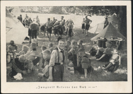 AK/CP HJ  Pimpfe  Jungvolk    Propaganda Nazi    Ungel/uncirc.1933-45   Erhaltung/Cond. 2  Nr. 00905 - Weltkrieg 1939-45