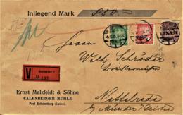 Deutsches Reich - Umschlag Echt Gelaufen / Cover Used (A901) - Briefe U. Dokumente