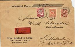Deutsches Reich - Umschlag Echt Gelaufen / Cover Used (A902) - Briefe U. Dokumente