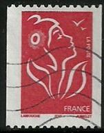 France 2005 - Marianne Lamouche - N° 3743b Sans Phosphore Oblitéré - Varietà E Curiosità