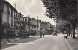 RIVAROLO CANAVESE-TORINO-CORSO TORINO-CARTOLINA VERA FOTOGRAFIA NON VIAGGIATA ANNO 1955 - Italia