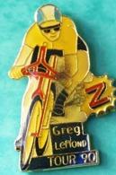 MM...127......CYCLISME......GREG   LEMOND............TOUR  90 - Wielrennen