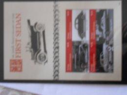 FEUILLET GRENADINES OF ST VINCENT ** - Cars