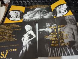 MADONNA  CICCONE  FESTA  COMPLEANNO A  CLASSIC CLUB RIMINI CON IVANA SOSIA   N2000? HG1493 - Musica E Musicisti