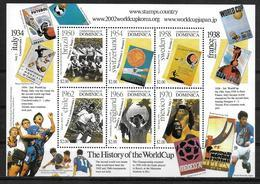 DOMINIQUE Feuillet   N°  2792/97  * *   ( Cote 21e )   Cup 2002   Football Soccer Fussball - Fußball-Weltmeisterschaft