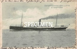 Osterreichischer Lloyd D. Cleopatra - Passagiersschepen