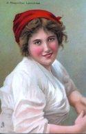 Unknown Tuck Artist  -  A Neapolitan Laundress        -        2633 - Ilustradores & Fotógrafos