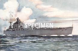 HMS Rodney - Guerre