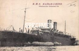RMS Kaisar-I-Hind Péninsular Oriental Co - Guerre