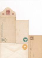 4 ENTIERS POSTAUX POSTAL ENTIER ZANZIBAR - Postzegels