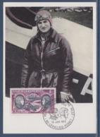 = Hélène Boucher Maryse Hilsz, Premier Jour PA47 Levallois Perret10.6.72 Hélèné Boucher Pionnière De La Poste Aérienne - Avions