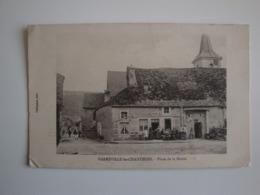 52 Harréville -les- Chanteurs,place De La Mairie,café,tabac - Otros Municipios