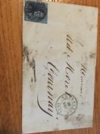 Lettre De Bxl Avec N*2 (p24) 19/12/1849 Vers Tournay - Belgium