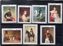 Cuba Nº 1305-11 Napoleón, Serie Completa En Nuevo 12 € - Napoleon