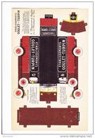 GOULET TURPIN  Découpi De  Camion De Livraison à Monter En Volume - Publicités