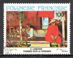 POLYNESIE. PA 181 Oblitéré De 1983. Tableau De Lemoine. - Oblitérés