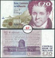 Ireland | 20 Pounds | 1998 | P.77b | UUP 416658 | XF+ - Ierland