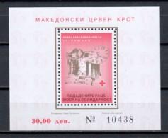 Macedonia 1997 Zwangszuschlagsmarken Block 20A MNH - Macedonia