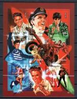 Mongolia 1995 Kleinbogen Mi 2592-2600 MNH ELVIS PRESLEY - Elvis Presley