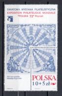 Poland 1972 Mi Block 52 MNH - Blocks & Sheetlets & Panes