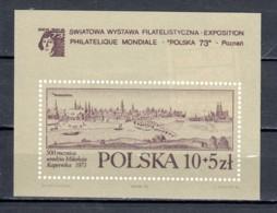 Poland 1973 Mi Block 55 MNH - Blocks & Sheetlets & Panes