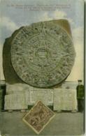 MEXICO CITY - MUSEO NACIONAL - PIEDRA DEL SUD - EDIT. F. MARTIN - 1920s (BG5357) - Mexico