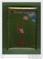 GOLF *** TROPHEE LANCOME N°2 *** 2001 - Golf
