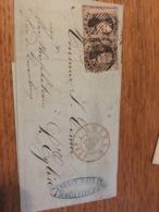 Lettre 1854 Anvers Pour Leglise - 1849-1865 Medaillen (Sonstige)