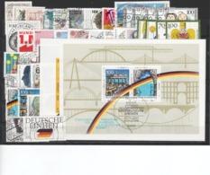 BRD, Kpl. Jahrgang 1990, Gest. (T 12520) - [7] République Fédérale