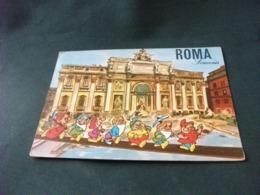 WALT DISNEY I SETTE NANI A ROMA FONTANA DI TREVI - Disney