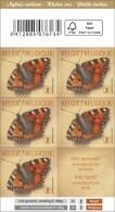4321** Boekje 136** Papilio Aglais Urticae - Petite Tortue - Kleine Vos - Carnet 136 Mnh De Marijke Meersman - Booklets 1953-....